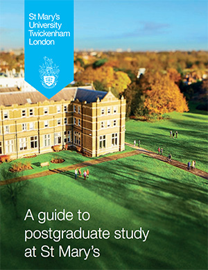 Guide to postgraduate study cover