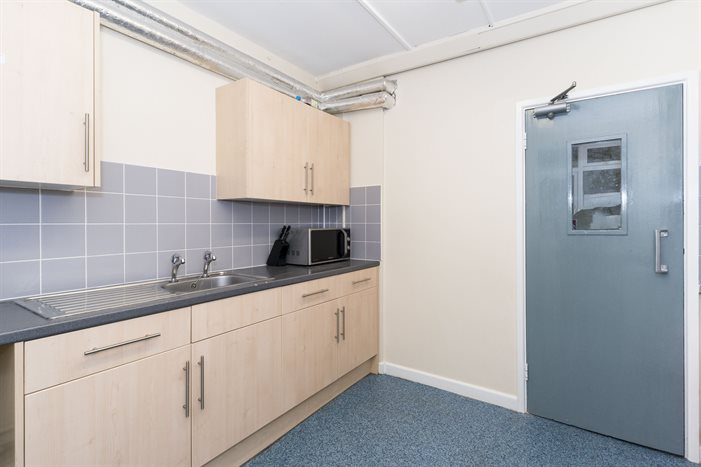 Shared kitchen in Graham halls