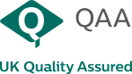 QAA UK qualitya assured logo