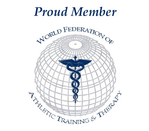 World Federation of Athletic Training & Therapy logo