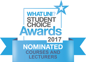 WhatUni? Student Choice Nomination