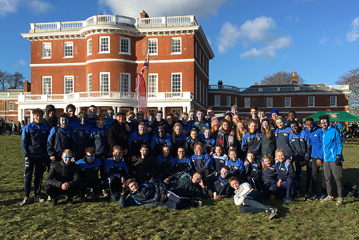 Image: Clean Sweep for St Mary's at BUCS Cross Country