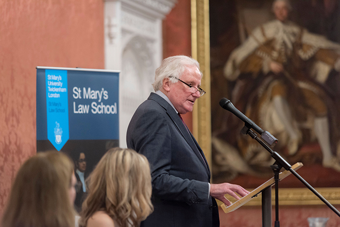 St Mary's University, London, launches new Law School