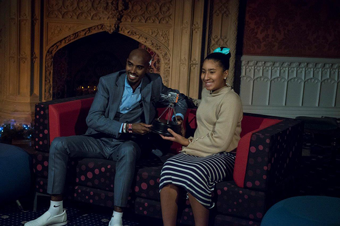 Image: Sir Mo Farah Wins Sports Personality of the Year at St Mary's