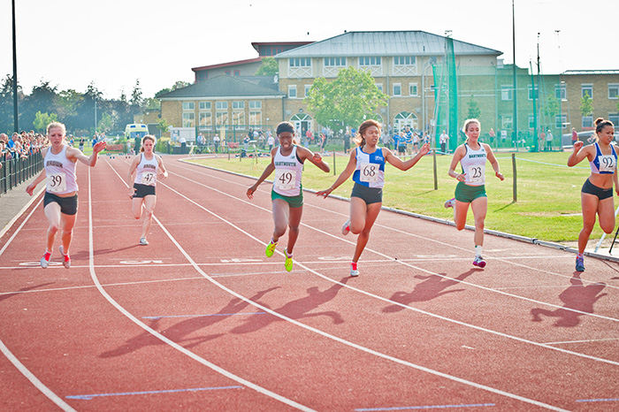 St Mary's Launches Appeal for Photographs of Old Running Track