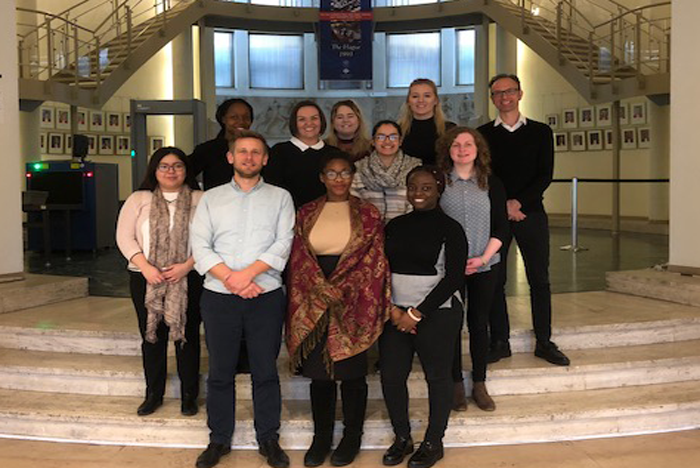 Law students visit International Criminal Court in Netherlands