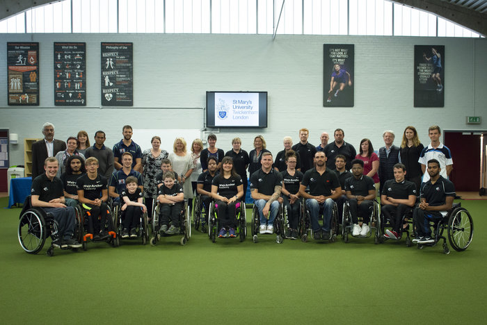 Image: St Mary's Launches Partnership with Six-time Paralympic Champion's Academy