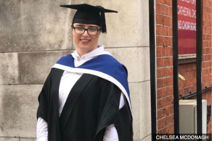 An inspiring journey: Irish Traveller Graduates with a First-Class Degree from St Mary's