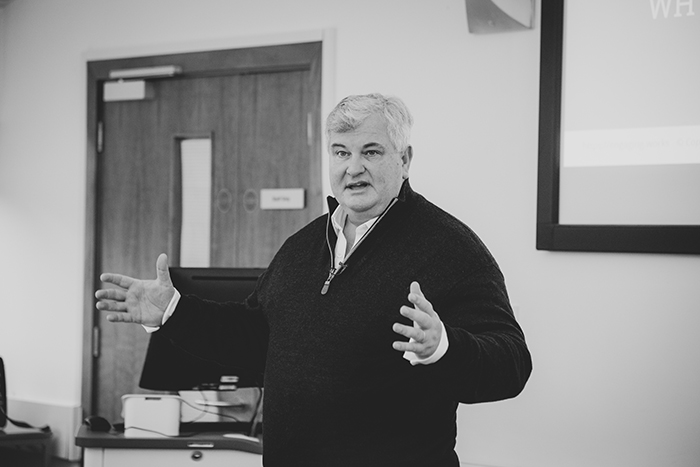 Lord Price Speaks to St Mary's Business Students
